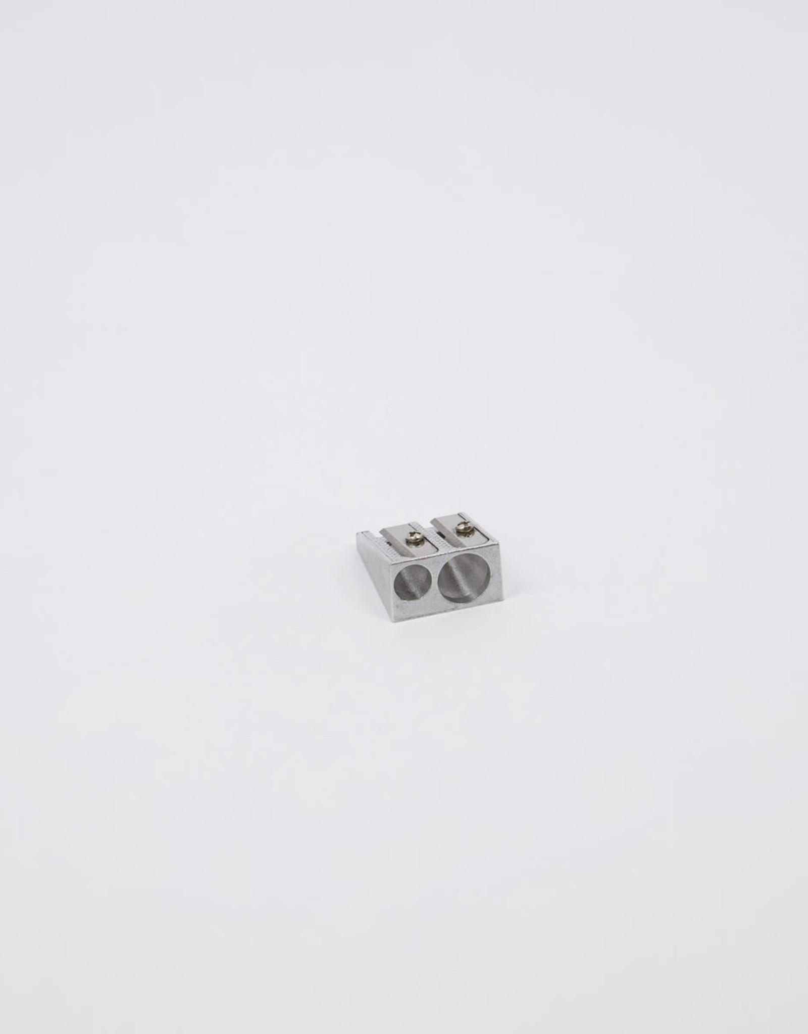Monograph Pencil sharpener, Raw aluminium