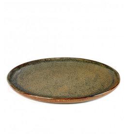 Serax plate ' Surface' - Indi Grey