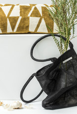 Urban Nature Culture Shopper gerecycled plastic - zwart