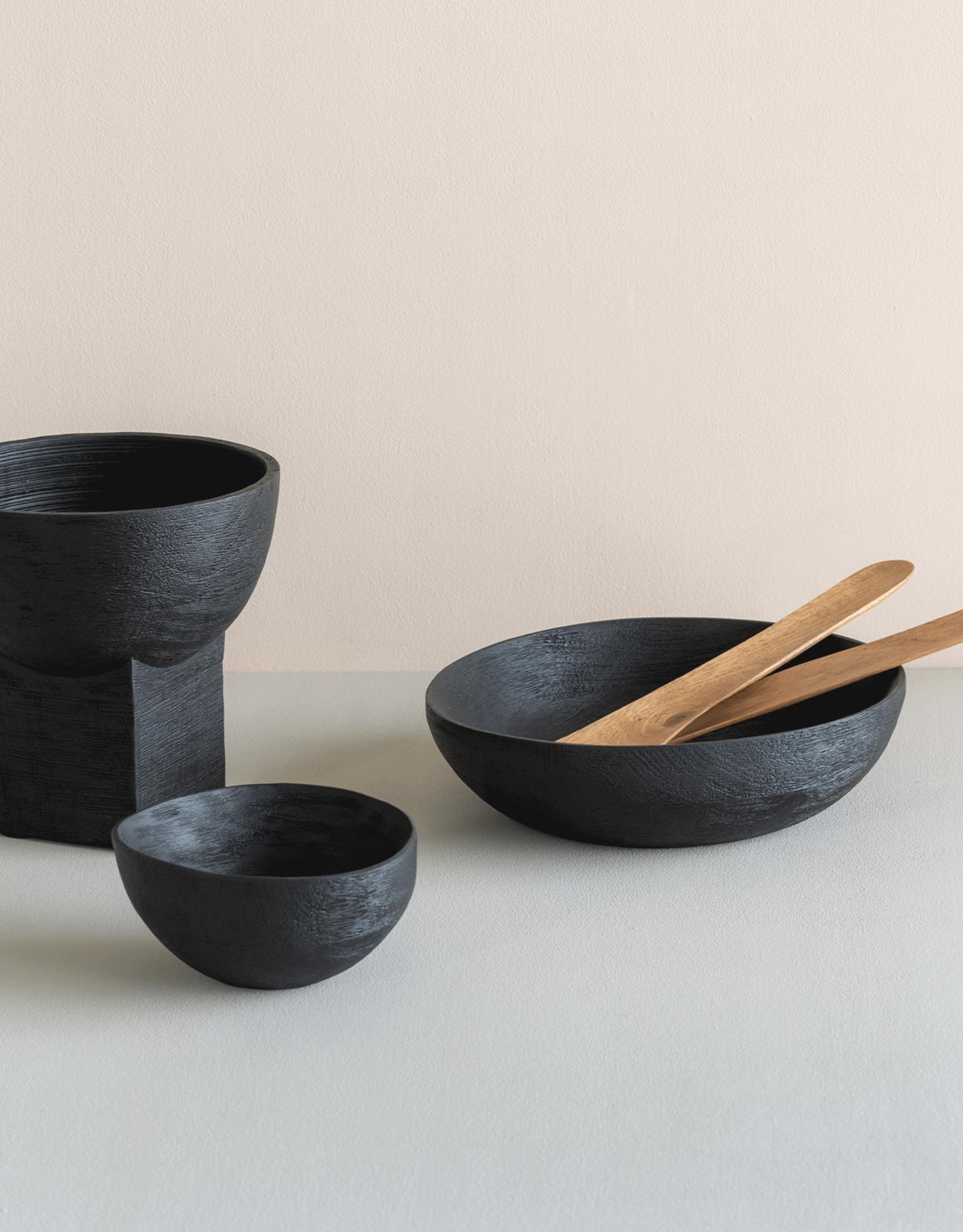 Urban Nature Culture kom 'Bowl' - smoked mango wood