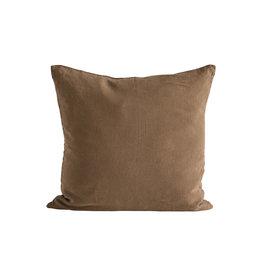 TineK Home Cushion Cover 'Walnut'- Linen