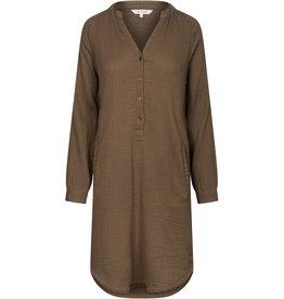 Gai&Lisva tuniek / jurk 'Fryd' katoen - hazy brown