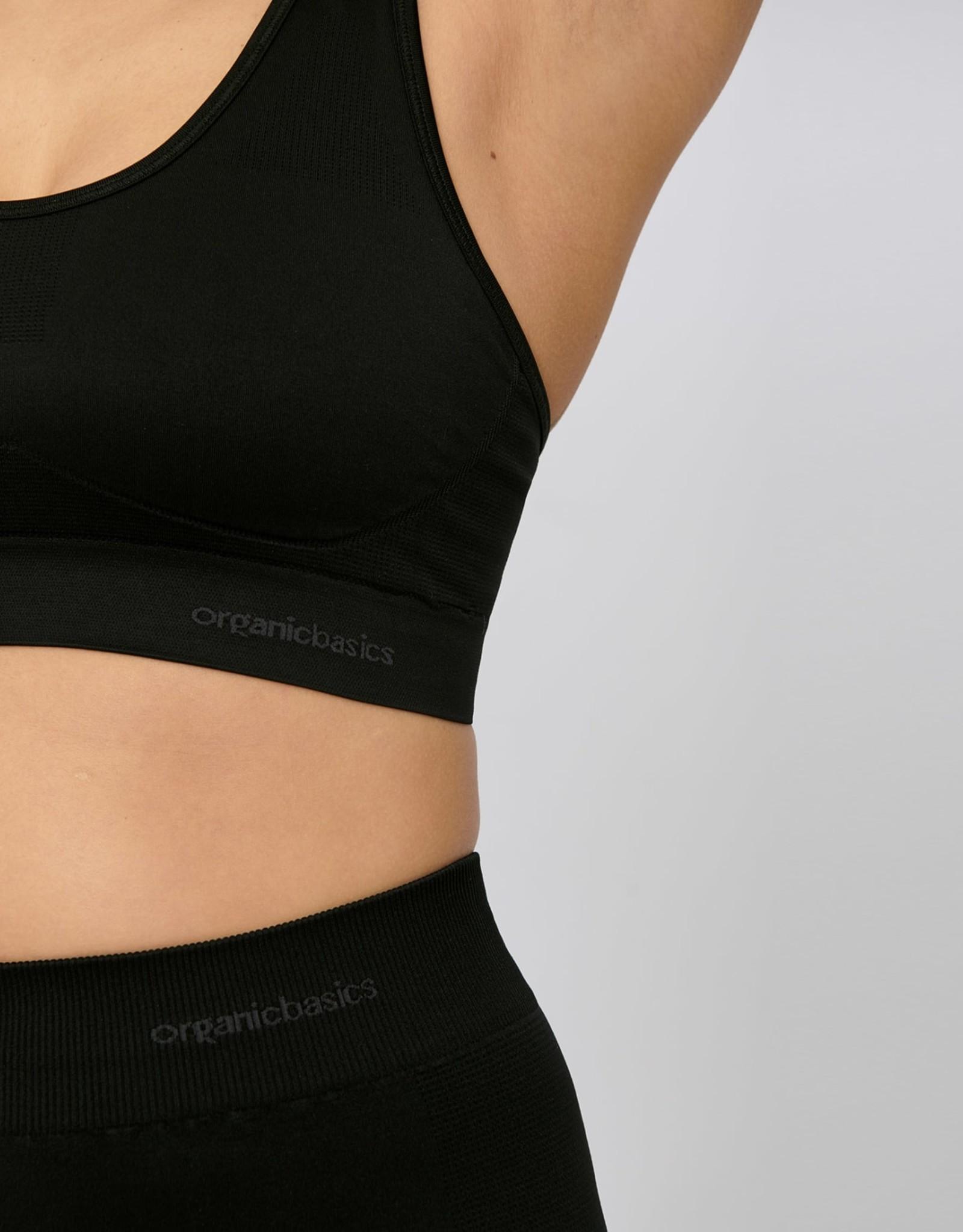 Organic Basics Active Workout Bra - zwart
