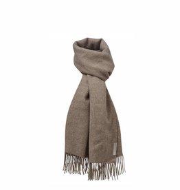 Silkeborg sjaal 'Arequipa' alpaca - walnoot