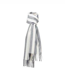 Silkeborg sjaal 'Buenos Aires' alpaca - stripe grey