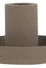 IBLaursen kaarsenhouder taper metaal  - bruin