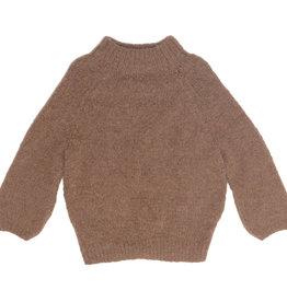 Inti Knitwear trui 'Naomi' camello - baby alpaca