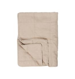 IBLaursen Vintage quilt bedspread - fog