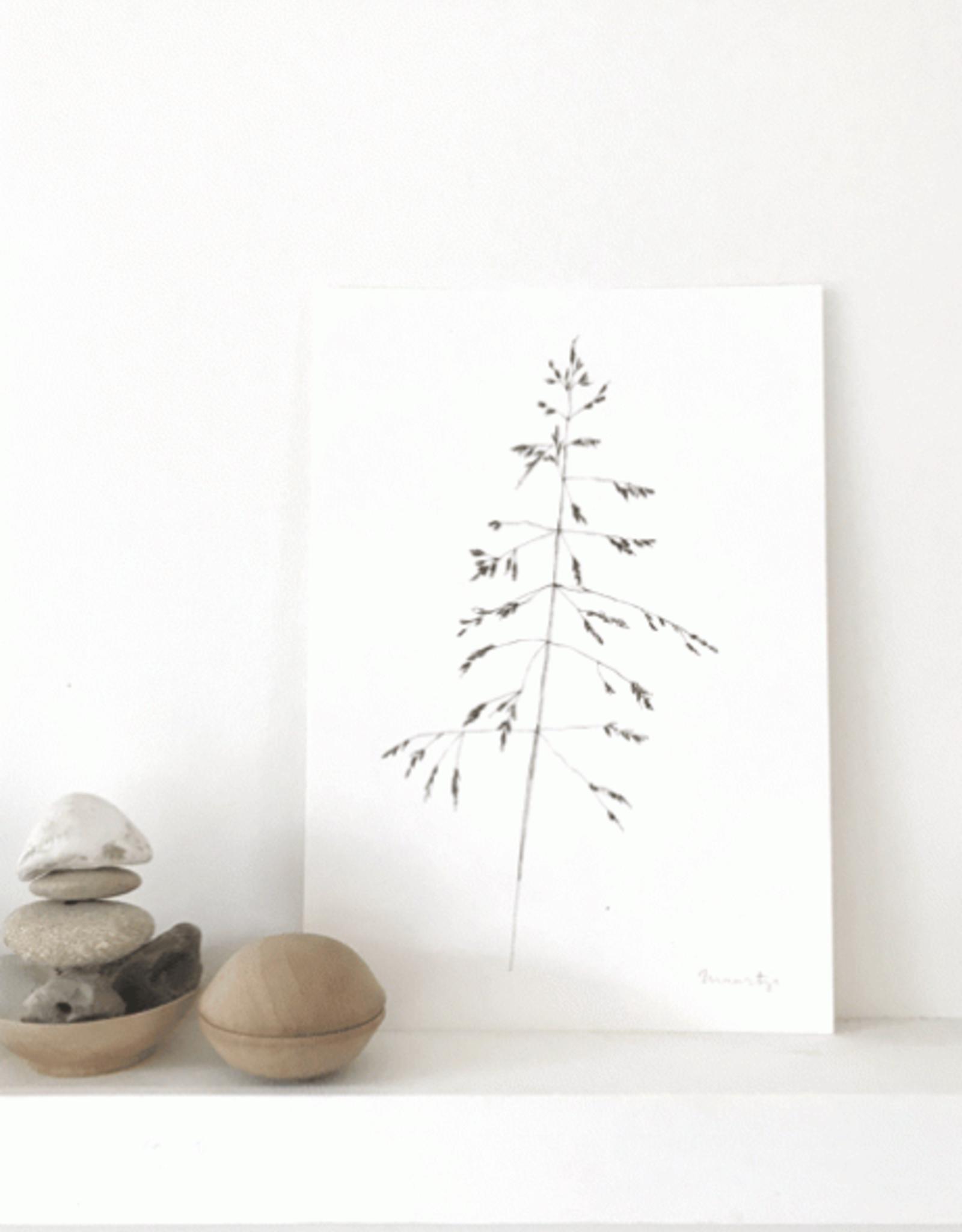 """Maartje van den Noort """"Grasje"""" - Artprint A4"""