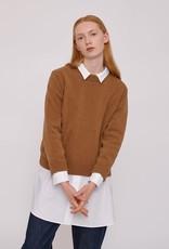 Organic Basics Recycled Wool Boxy Knit Camel