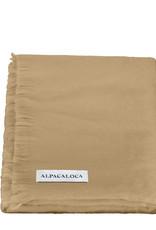 Alpacaloca sjaal Tobacco