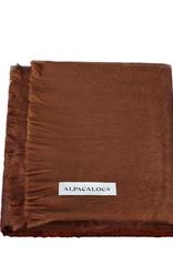 Alpacaloca Sjaal Bruin