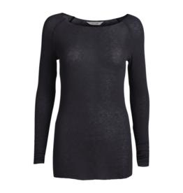 Gai&Lisva Amalie shirt wol/viscose - Dark Grey