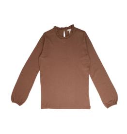 Minimalisma shirt 'Vigga' merinowol - Caramel