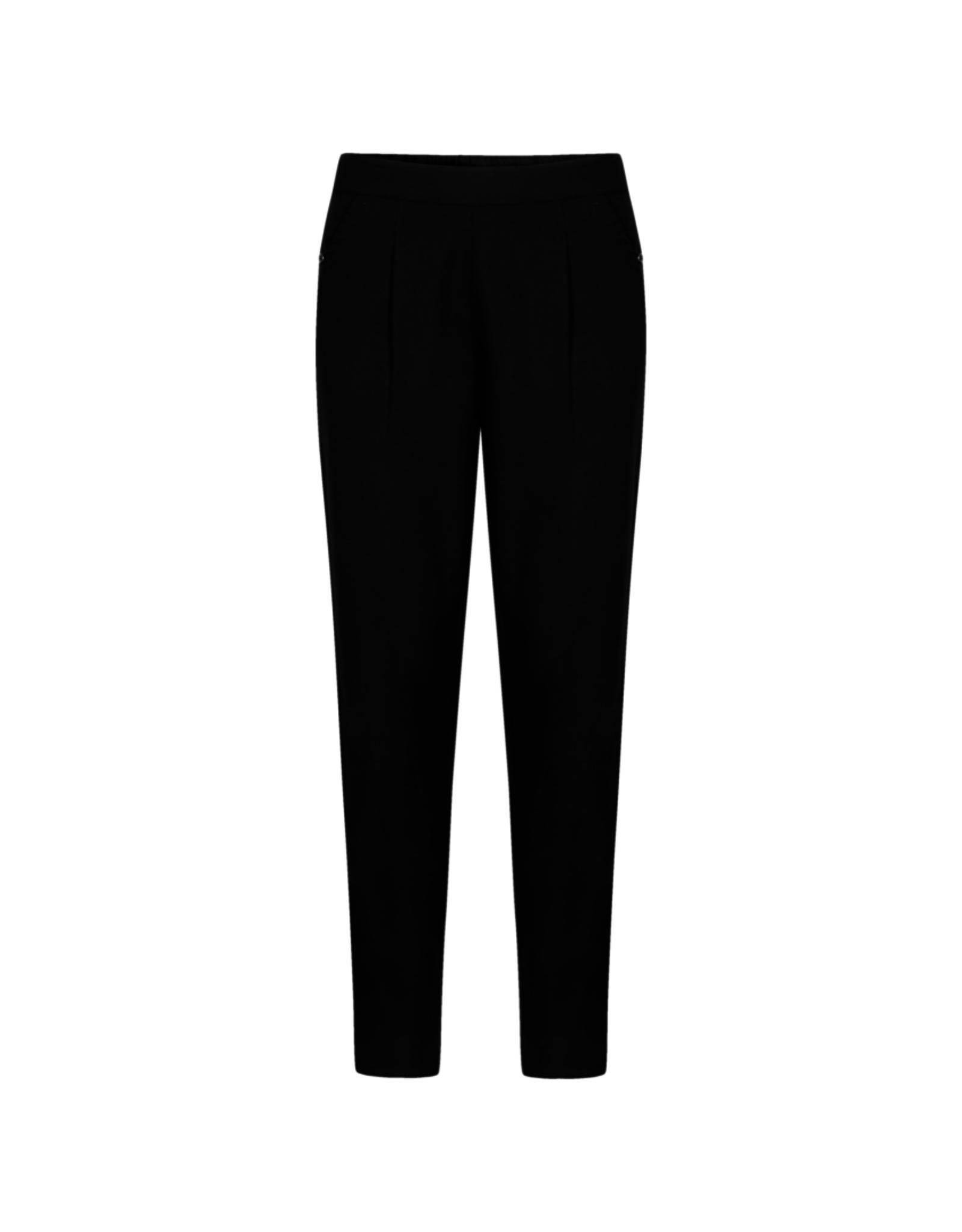 Gai&Lisva Pantalon 'Farina' Katoen - Zwart