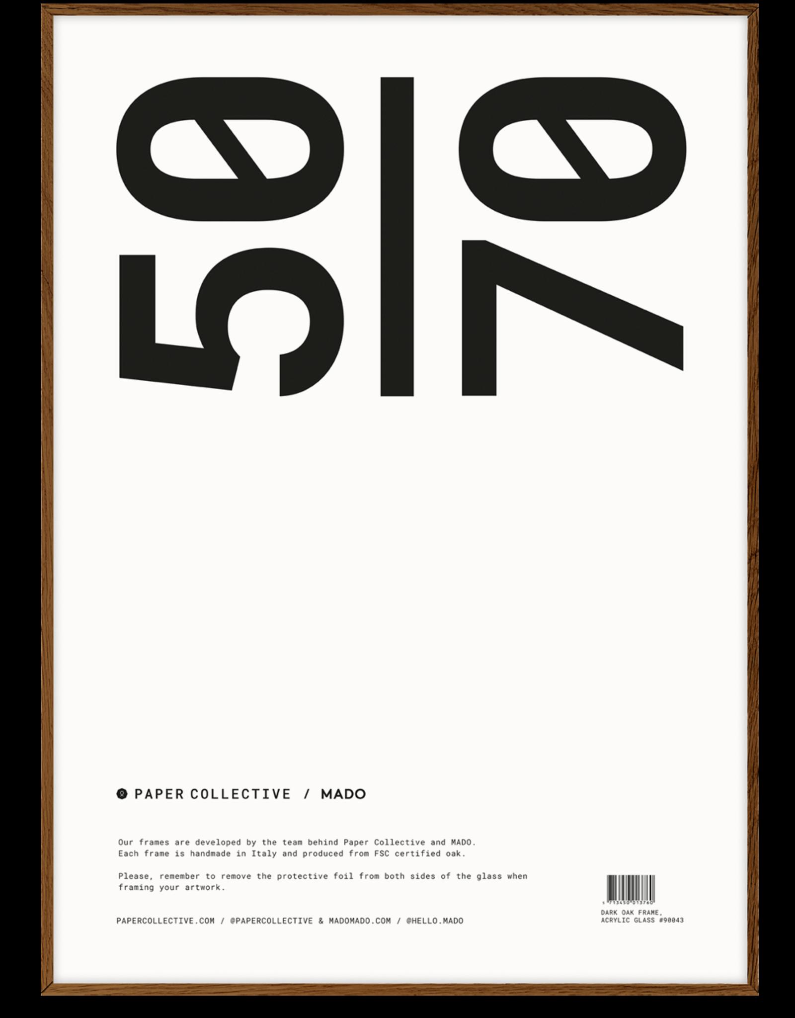 Paper Collective frame donker eiken