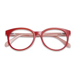 Reading Glasses City - tomato