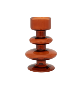 Urban Nature Culture Candle Holder 'Intuitive' Gerecycled Glass