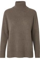 Rosemunde coltrui wol & cashmere - bruin melange