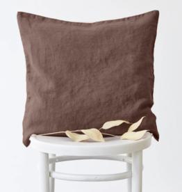 Linen tales Nutmeg Linen Cushion Cover
