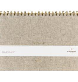 buroplanner A-journal - linnen