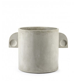 Serax pot 'Concrete' Artdeco 38 x 38 cm