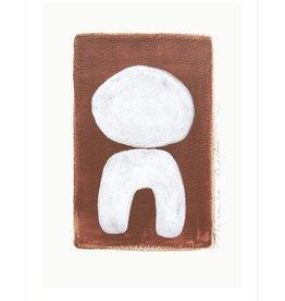 My Deer Art Shop A5 Mini Art Print - Balance |||