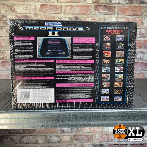 Sega Mega Drive II Console - Retro Games – Editie 2009- 368 Games In 1 | Nieuw in Seal