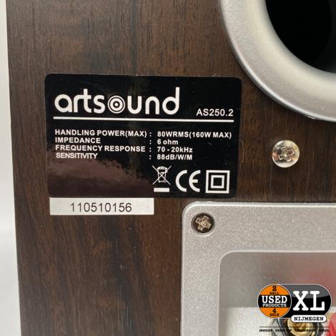 Artsound AS250.2 Design Luidsprekers | Nieuw