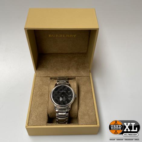Burberry Bu10005 Roestvrijstalen Mannen Horloge | Nieuw in Doos
