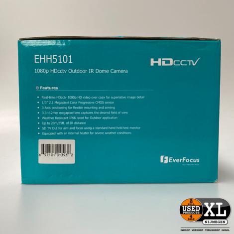Everfocus EHH5101 1080p Dome Camera | Nieuw in Doos