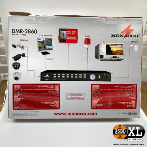Monacor DMR-2860 16 Channel Digital Recorder   Nieuw in Doos