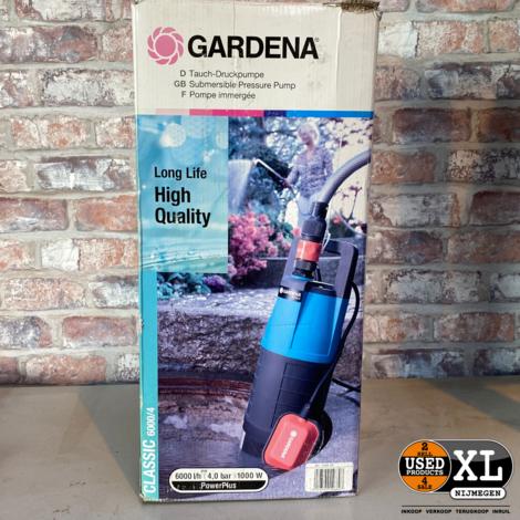 Gardena Classic 6000/4 Dompelpomp Dompeldrukopvoerpomp | incl Garantie
