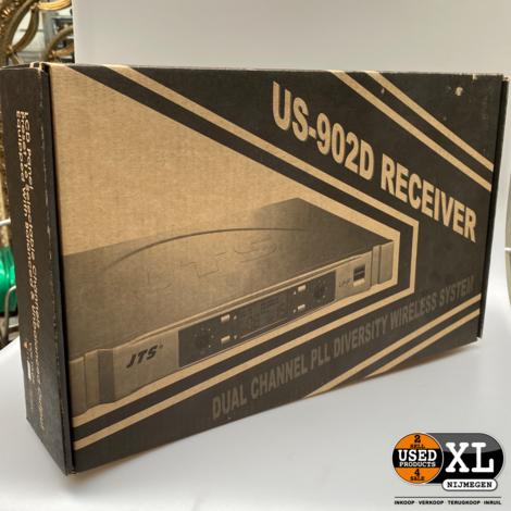 JTS US-902D/2 Draadloze Microfoon Ontvanger | Nieuw in Doos