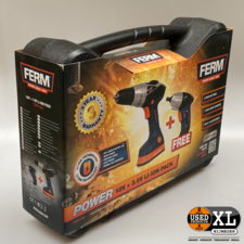 Ferm CDM1106 18v + Gratis Accuschroefmachine | Nieuw