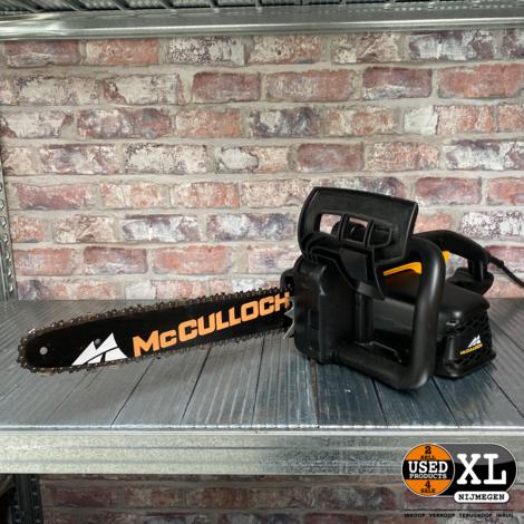 McCulloch CSE 1835 Elektrische Kettingzaag | Nette Staat
