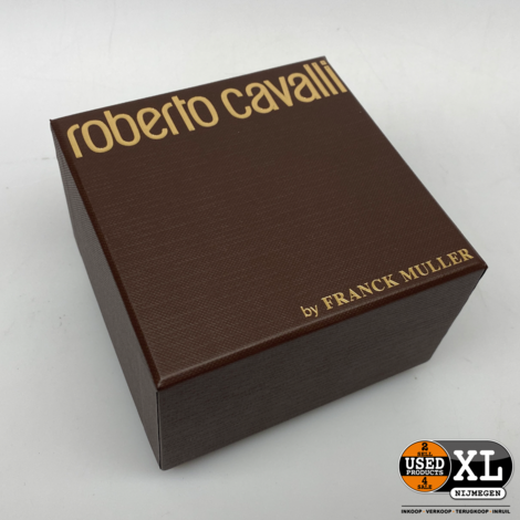 Roberto Cavalli by Franck Muller RV1L056L0031 | Nieuw in Doos