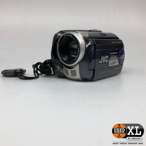 JVC Everio GZ-MG47E 20GB HDD videocamera | Nette Staat
