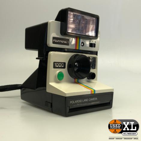 Vintage Polaroid Land Camera 1000 met Flitser | Nette Staat