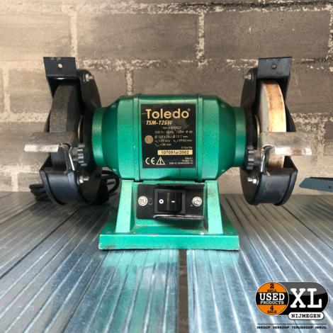 Toledo TSM-125W Slijpmachine | incl Garantie