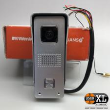 Huanso Video Deurbel / Intercom met Wifi   Nieuw in Doos