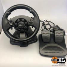 Speedlink Darkfire Racing Wheel Stuur PC | Nette Staat