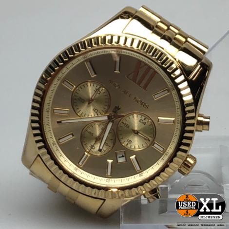 Michael Kors MK-8281 Dames Horloge   Nette staat