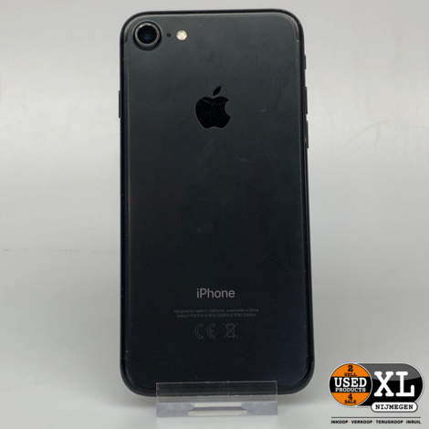 Iphone 7 32GB Zwart | incl Garantie