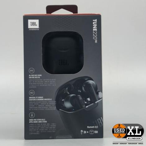 JBL Tune 220 TWS Bluetooth Oordopjes | Nieuw in Doos