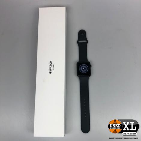 Apple Watch Series 3 42mm Space Gray | Nette Staat