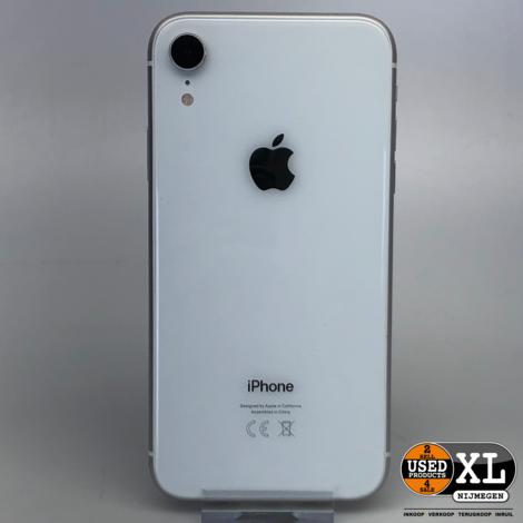 IPhone XR 128GB Wit | Als Nieuw