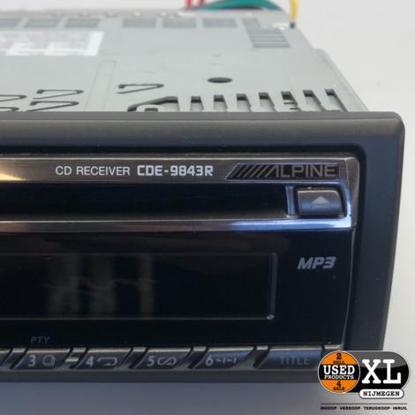 Alpine CDE-9843R Autoradio | Nette Staat