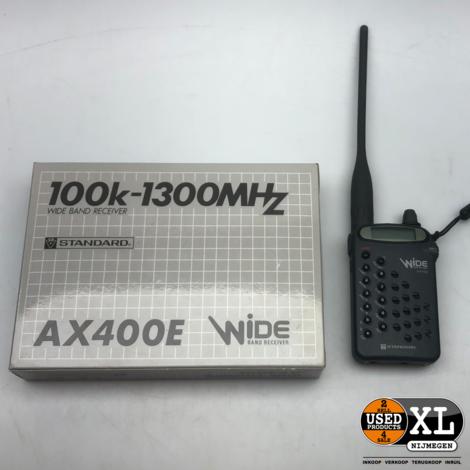 Standard AX400E Wide Band Reciever  | Nette Staat