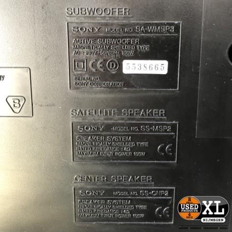 Sony SA WMSP3 Actieve Subwoofer | incl Garantie